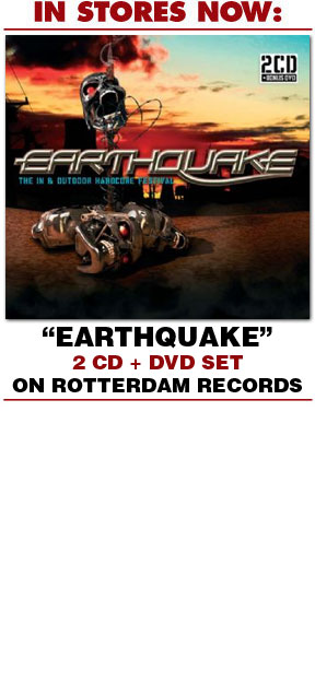 Earthquake- 2 CD and DVD Set from Rotterdam Records